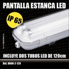 Pantalla LED Estanca 36 w.