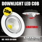 Downlight Led COB Orientable