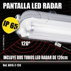 Pantalla Estanca LED RADAR