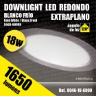 Downlight Panel Led  18 w.