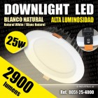 Downlight Led Alta Luminosidad