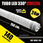 Tubo Led Cristal Alta Luminosidad